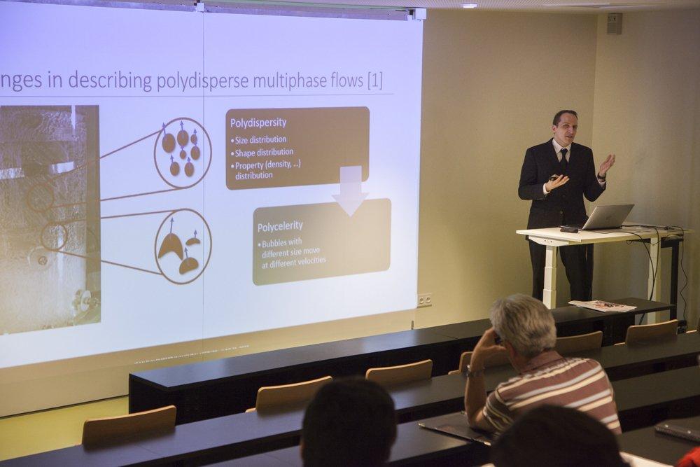 Mechanical engineering associate professor Alberto Passalacqua