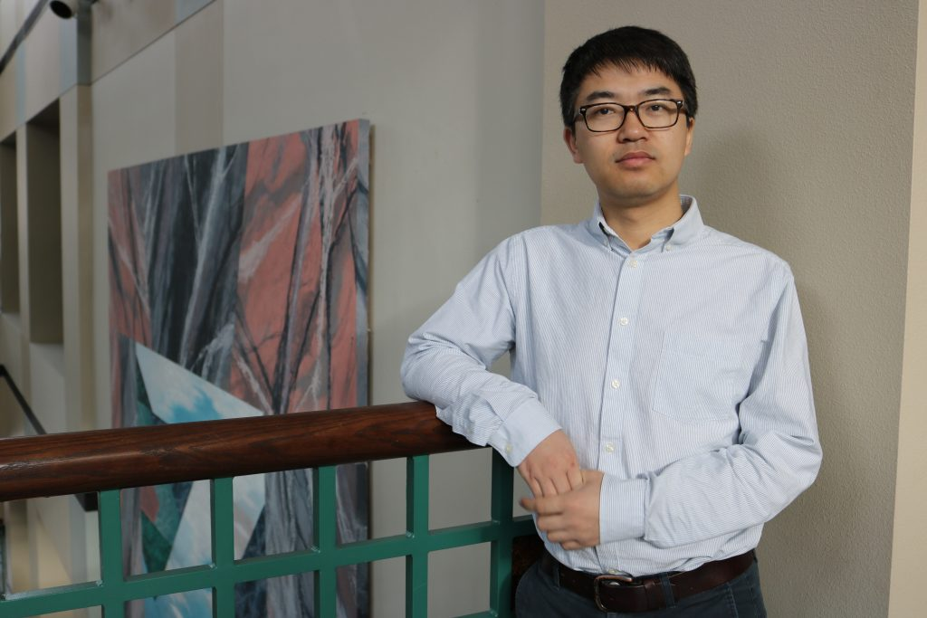 ECpE's Assistant Professor Neil Gong