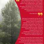 ISU CCEE faculty member aids U.S. Forest Service in efforts to reduce effects of misapplied fire retardant