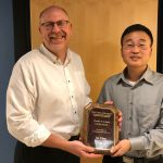 An Chen receives Charles W. Shafer Award
