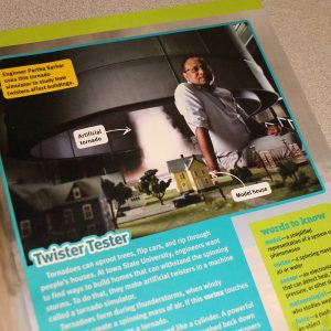 Sarkar and simulator in magazine