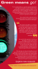 Research infographic detailing information about stop light studies