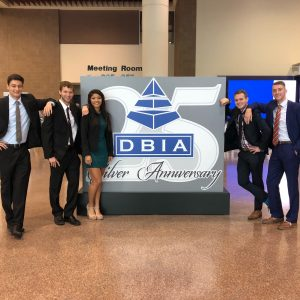 Team members of this year's ISU DBIA Student Chapter. <i> Photos courtesy Gus Marty. </i>