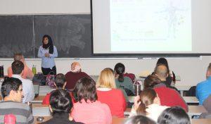 Fatima Enam speaking