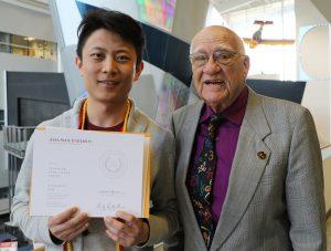 Nianhong Han and Dr. Joseph Schaefer