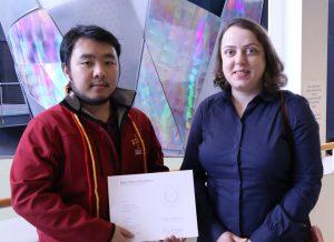 Thanh Phan and Dr. Azadeh Sheidaei