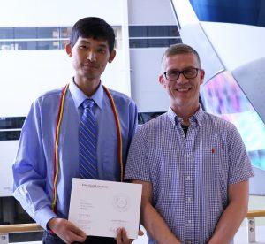 Xiaosong Du and Dr. Leifur Leifsson