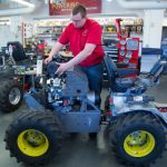 Fresh off the assembly line: Power Pullers set to compete with newly built tractor