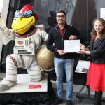"""Aerospace graduate researcher awarded """"Best Student Contribution"""" by international computing systems community"""