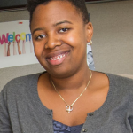 Q&A with Ph.D. student in materials science and engineering Trishelle Copeland-Johnson