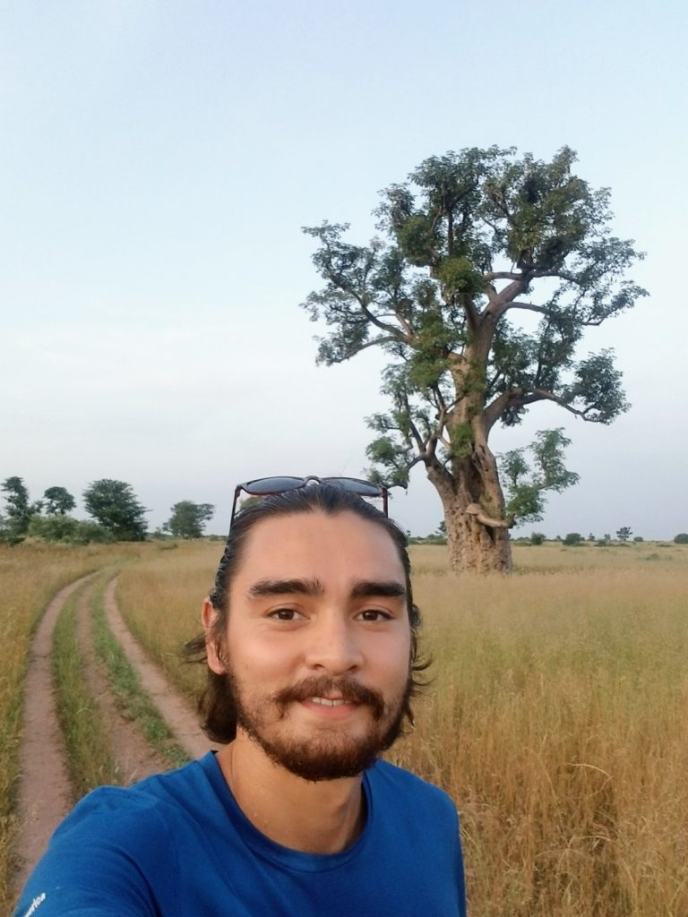 Mechanical engineering alum Patrick Ward poses in Senegal where he works as a health volunteer for the Peace Corps