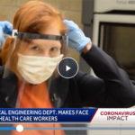 KCCI-TV: ISU engineers make face shields for health care community
