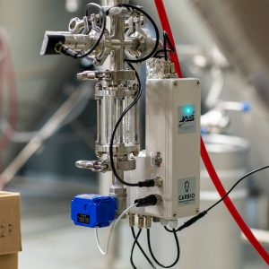 A sensor used to detect beer quality