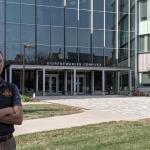 Evan Boss: Outstanding senior in agricultural engineering