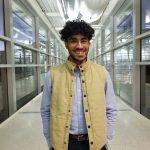Luis Granadillo named fall 2020 College of Engineering student marshal