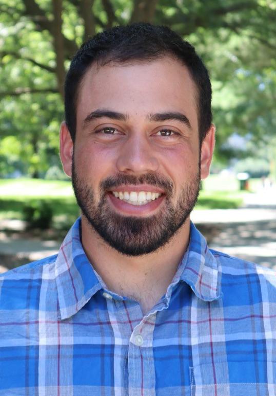 Iowa State University graduate student Philippe Meister