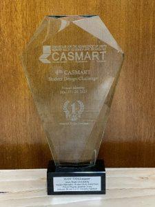 CASMART Design Challenge Trophy