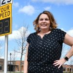 Work is a highway: Shauna Hallmark's road safety research saves lives
