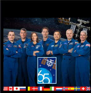 International Space Station 65 mission astronauts