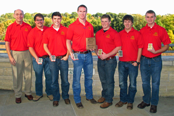 Second Place Team - Heavy Civil Division, Associated Schools of Construction Region IV
